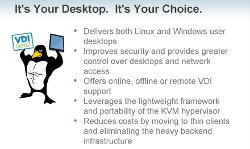 Linux Webinar: a Linux virtual desktop with VERDE.