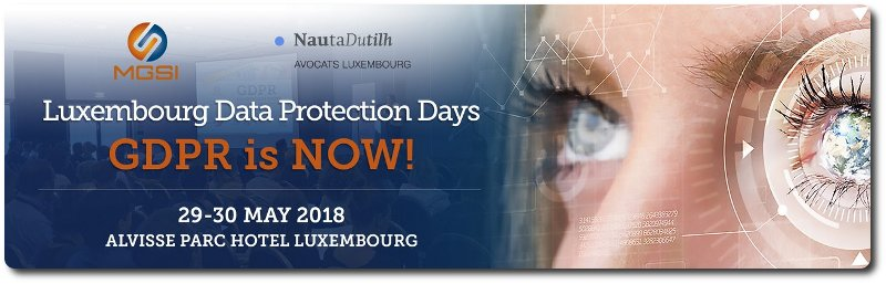 GDPR Data Protection Days Luxembourg