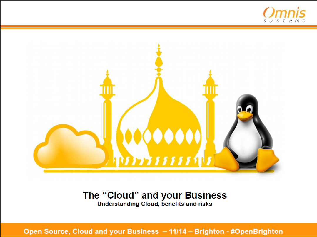 The Cloud and your Business - Omnis Systems